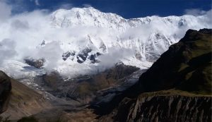 Annapurna base camp and Tent Peak