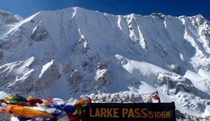 Manaslu Circuit Larke Pass Trek