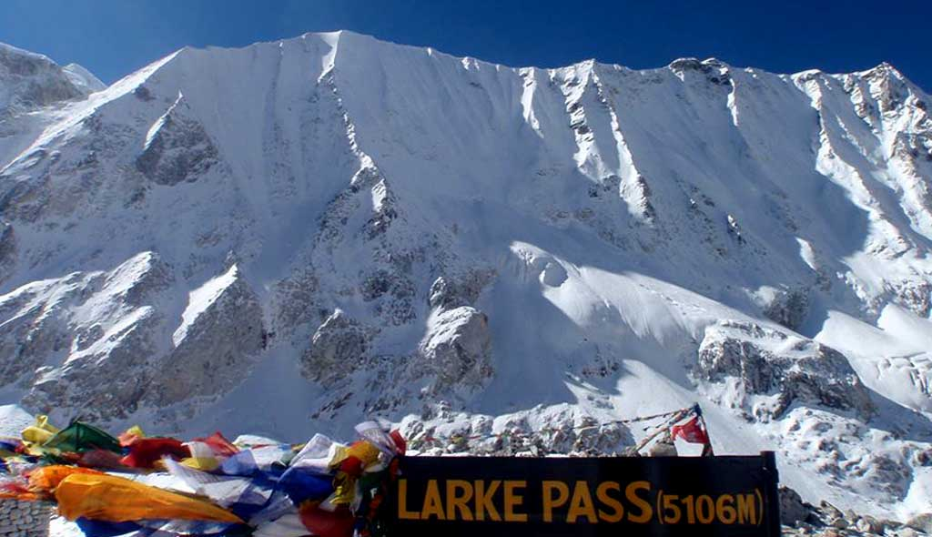 Manaslu Circuit Larke Pass Trek